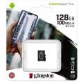 Kingston Canvas Select Plus microSDXC UHS-I Class 10 card 128GB + Adaptér