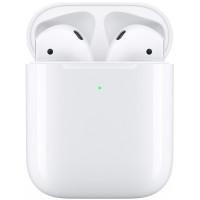 Apple AirPods (2019) s bezdrátovým nabíjecím pouzdrem