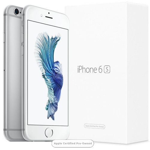 Apple iPhone 6S 16GB Silver (Apple Certified Pre-Owned)