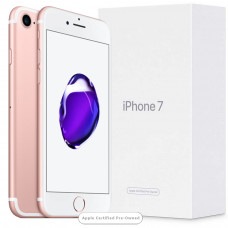 Apple iPhone 7 256GB Rose Gold (Apple Certified Pre-Owned)
