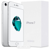 Apple iPhone 7 128GB Silver (Apple Certified Pre-Owned)