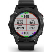 Garmin fēnix6 Pro Glass Black with Black Band