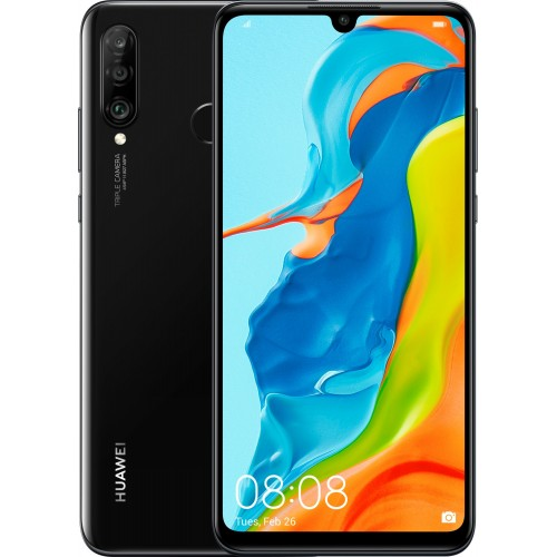 Huawei P30 Lite 6GB/256GB Dual SIM Midnight Black (New Edition)