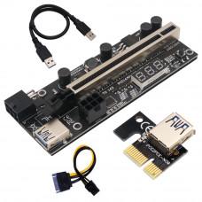 PCI Express Riser PCE164P-N09 VER 12x (6-pin power connector)