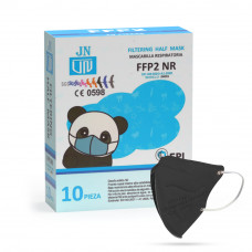 Jinhuan JN001 detský respirátor FFP2 NR čierny 10ks/bal