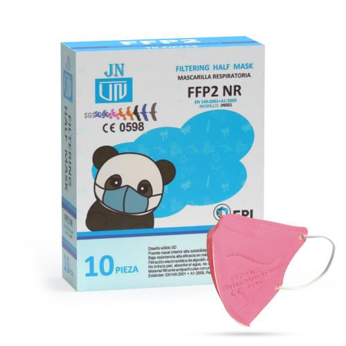 Jinhuan JN001 detský respirátor FFP2 NR ružový 10ks/bal
