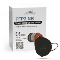 Manreally MZ Respirátor FFP2 NR čierny 1ks/bal