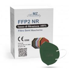 Manreally MZ Respirátor FFP2 NR tmavozelený 20ks/bal