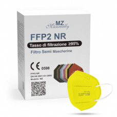 Manreally MZ Respirátor FFP2 NR žltý 1ks/bal