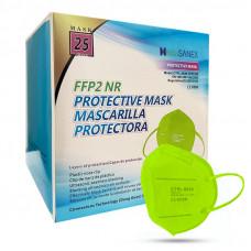 Media Sanex CTPL-0020 Respirátor FFP2 NR zelený 25ks/bal