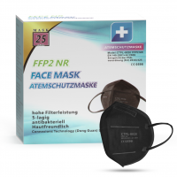 MundoSalud CTPL-0020 Respirátor FFP2 NR Black 10ks/bal