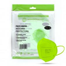 MundoSalud CTPL-0020 Respirátor FFP2 NR Green 10ks/bal