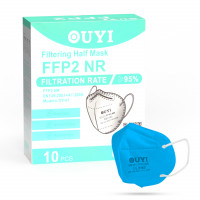UYI OY-01 Respirátor FFP2 NR azurový 1ks/bal