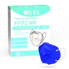 UYI OY-01 Respirátor FFP2 NR modrý 1ks/bal