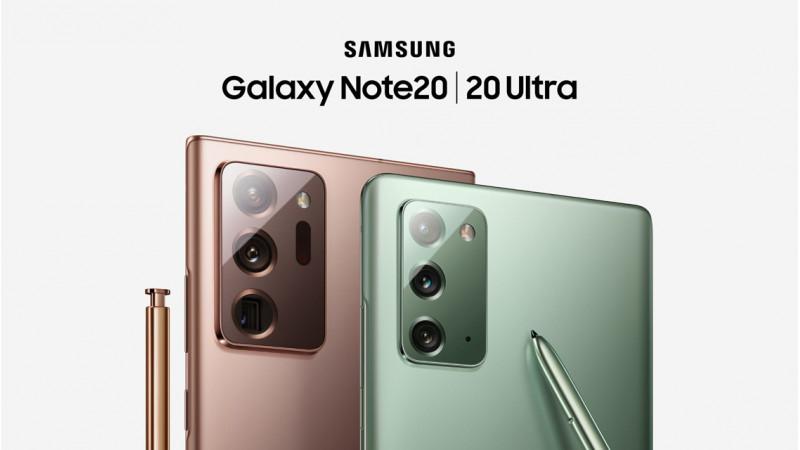 Samsung Note 20 a Note 20 Ultra