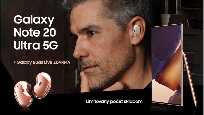 Galaxy Note20 Ultra 5G + Darček Samsung Galaxy Buds Live