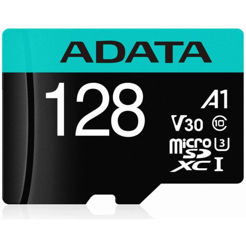 ADATA Premier Pro microSDXC UHS-I U3 Class 10(V30S) 128GB + Adaptér