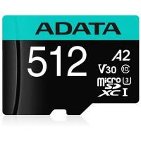 ADATA Premier Pro microSDXC UHS-I U3 Class 10 (V30S) 512GB + adaptér (EU Blister)