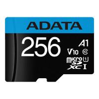 ADATA Premier microSDXC UHS-I Class 10 card 256GB + Adaptér