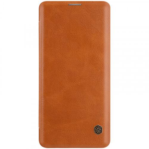 Nillkin Qin Book Pouzdro pro Samsung Galaxy S10 Brown