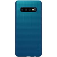 Nillkin Super Frosted Zadní Kryt pro Samsung Galaxy S10+ Blue