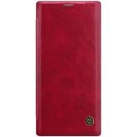 Nillkin Qin Book Pouzdro pro Samsung Galaxy Note10+ Red