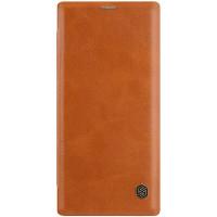 Nillkin Qin Book Pouzdro pro Samsung Galaxy Note10+ Brown