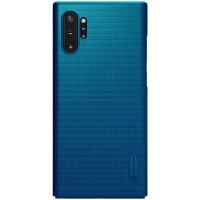 Nillkin Super Frosted Zadní Kryt pro Samsung Galaxy Note10+ Peacock Blue