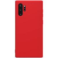 Nillkin Rubber Wrapped Ochranný Zadní Kryt pro Samsung Galaxy Note10+ Red