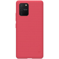 Nillkin Super Frosted Zadní Kryt pro Samsung Galaxy S10 Lite Red