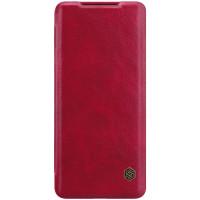 Nillkin Qin Book Pouzdro pro Samsung Galaxy S20 Ultra 5G Red