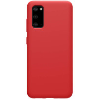 Nillkin Flex Pure Liquid Silikonový Kryt pro Samsung Galaxy S20 Red