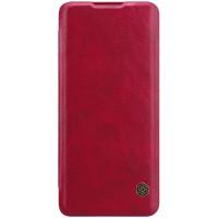 Nillkin Qin Book Pouzdro pro Huawei P40 Pro Red