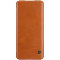 Nillkin Qin Book Pouzdro pro Huawei P40 Pro Brown