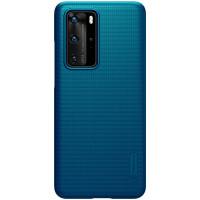 Nillkin Super Frosted Zadní Kryt pro Huawei P40 Pro Peacock Blue