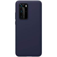 Nillkin Flex Pure Liquid Silikonové Pouzdro pro Huawei P40 Pro Blue