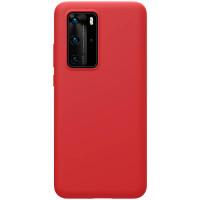 Nillkin Flex Pure Liquid Silikonové Pouzdro pro Huawei P40 Pro Red