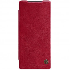 Nillkin Qin Book Pouzdro pro Samsung Galaxy Note20 Red