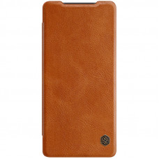 Nillkin Qin Book Pouzdro pro Samsung Galaxy Note20 Brown