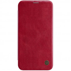 Nillkin Qin Book Pouzdro pro iPhone 12 Max / 12 Pro Red