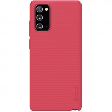 Nillkin Super Frosted Zadní Kryt pro Samsung Galaxy Note20 Bright Red