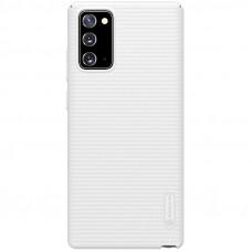 Nillkin Super Frosted Zadní Kryt pro Samsung Galaxy Note20 White