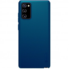 Nillkin Super Frosted Zadní Kryt pro Samsung Galaxy Note20 Peacock Blue