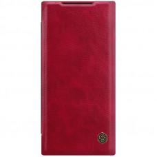 Nillkin Qin Book Pouzdro pro Samsung Galaxy Note20 Ultra Red
