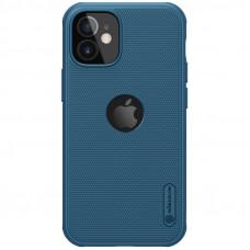 Nillkin Super Frosted PRO Magnetic Zadní Kryt pro iPhone 12 mini Blue