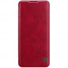 Nillkin Qin Book Pouzdro pro OnePlus 9 Pro Red