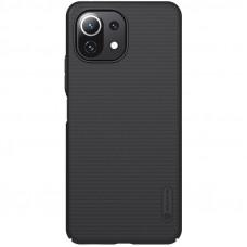 Nillkin Super Frosted Zadní Kryt pro Xiaomi Mi 11 Lite 4G / 5G Black