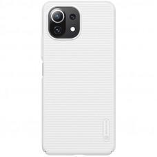 Nillkin Super Frosted Zadní Kryt pro Xiaomi Mi 11 Lite 4G / 5G White