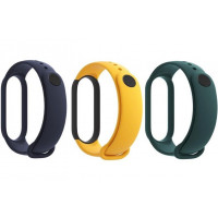 Xiaomi Original Mi Band 5 / 6 Strap Set Blue / Yellow / Mint