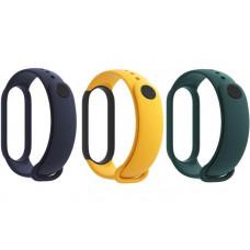 Xiaomi Original Mi Band 5 / 6 Strap Set Blue / Yellow / Mint